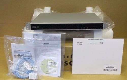 Cisco ASA5512-X ASA5512 Adaptive Security Appliance 120GB SSD + Control License